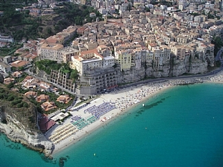 Tropea Arial View