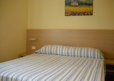 Bedroom (set up as a double bed)